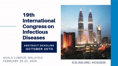 19 th International Congress on Infectius Diseases