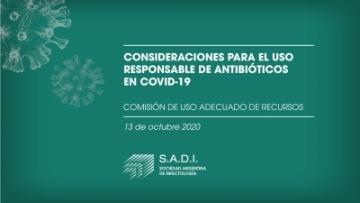 Consideraciones para el uso responsable de antibióticos en Covid-19