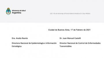 Actualización sobre cuarentena en el contexto de vacunación contra Covid-19 y vacunación en personas de 60 años y mayores