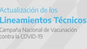 Lineamientos técnicos - CAMPAÑA NACIONAL DE VACUNACIÓN CONTRA LA COVID-19